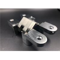 Cheap Zinc Alloy Self Closing Invisible Spring Hinges 90 Degree Concealed Hinge for sale