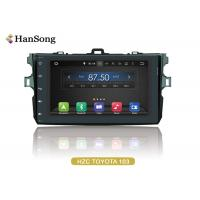 Best Navigation System Android Car DVD Player For Toyota Corolla 2007 , Android Car Stero wholesale