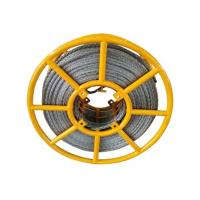 Buy cheap 12 Strands Anti Twist Wire Rope Galvanized Braided Overhead Line Polit Rope from wholesalers