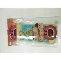 Cheap Clear PVC Waterproof Phone Bag Plastic Printing Services With Offset CMYK for sale