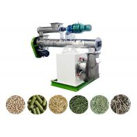 Best Poultry Feed Pellet Making Machine Siemens Motor SKF Bearing Ring Die 1-2 T/H wholesale
