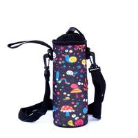 Best Wholesale Custom Neoprene Water Bottle Holder With Adjustable Shoulder Strap. size:18cmc*6.8cm  Material is neoprene wholesale