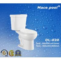 Best Bathroom Sanitary Wares Two Piece Toilets with S-trap (DL-030) wholesale