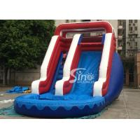 China Verruckt Commercial Inflatable Water Slides Games with 1st Class PVC Tarpaulin on sale