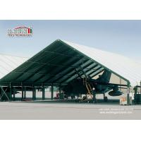 Best Special Fabric Aircraft Hangar Tent 30M Width With Glass Wall wholesale