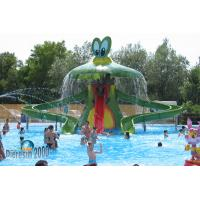 Best Children Funny Small Water Park Equipments , Safety Playground Equipment wholesale