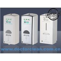 Best 1000ml Automatic Antibacterial Gel Alcohol and Hand Soap Dispenser with Bag and Pouch wholesale