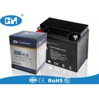 Best Sealed 12v 12ah Motorcycle Battery , Harley Davidson Motorcycle Battery wholesale