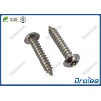 Best 18-8 / A2 / 316 Stainless Pin Torx Button Head Tamper Proof Sheet Metal Screws wholesale