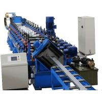 China Building Material Machinery C Z Purlin Roll Forming Machine Working Speed 10-15m/min on sale