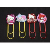 Best Metal Cartoon stationery Accessories Marvel Bookmarks with Clips for paper files wholesale