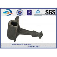 Buy cheap Plain Surface Cast Iron Rail Shoulder Embedded Part For Railway Fastening System from wholesalers
