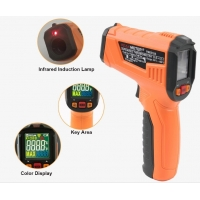 Best 2020 The Most Popular High precision digital laser infrared thermometer with LCD for industrial and domestic use wholesale
