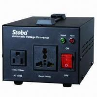 China US Patented Automatic Voltage Converter, 220 or 110V Input Voltage on sale