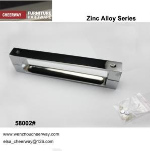 China zinc alloy handles polishing chrome finish on sale