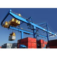 Best Rail Mounted Shipping Container Crane 50 Ton For Harbor / Containers Stockyard wholesale