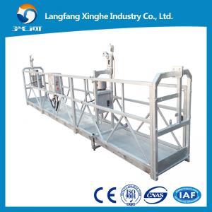Best 800kg Wire rope suspended platform / electric gondola platform / suspended scaffolding wholesale
