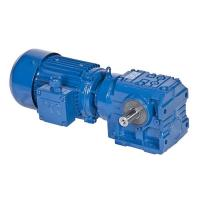 Best S Series Helical Worm Speed Transmission Gear Box Electric Drive Motor Reducer wholesale