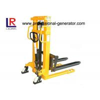 China Lift Height 3000mm Warehouse Material Handling Equipment Manual Hydraulic Mini Stacker on sale
