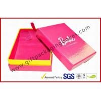 China Spot Uv / Hot-Stamping Gift Packaging Boxes, Elegant Rigid Board Luxury Jewellery Gift Box on sale