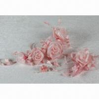 Best Yarn Rose-A Pastel Color Series Bridal Headwear, Ideal for Wedding Gown and Dress wholesale