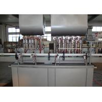 Buy cheap Automated Piston Filling Machines And Equipment , Bottle Filling Plant for Meat Paste product