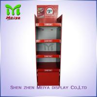 Colorful printing home style POS cardboard displays rack with 4 Tiers