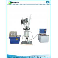 Double layer glass reactor high borosilicate glass material Jacketed reactor