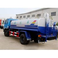 Cheap Dongfeng 10cbm  water tanker truck drinking water transportatiotn stainless steel tanker for sale