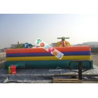 Cheap Attractive Huge Fun City Inflatable Amusment Park For Children / Kids Paradise for sale