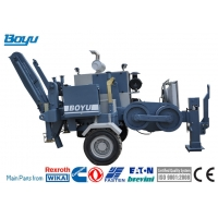 China 120kN Cummins Engine Stringing Equipment Hydraulic Puller For Transmission Line on sale