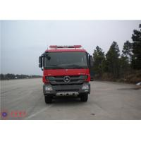 China Mercedes Chassis Fire Fighting Vehicles Monitor Flow 100L/S Overturning Type Cab on sale