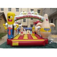 Best Customized Inflatable Bouncy Castle Eco Friendly PVC Tarpaulin OEM / ODM Received wholesale