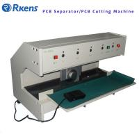 Buy cheap V Cut PCB Depaneling Machine 250 Watt Electric Power Separate PC / LED Boards from wholesalers
