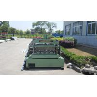 Best Metal Roll Forming Equipment , Galvanized Floor Decking Forming Machine wholesale