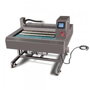 China Stainless Steel Vacuum Packing Machine Food Packaging Sealer Adjustable Worktable on sale
