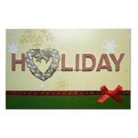 Best Holiday Greeting Card, Seasons Card (HTGC037) wholesale
