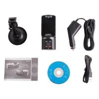 China HD 720P NEW Dual Lens Dashboard Car cam vehicle Camera Video Recorder DVR on sale