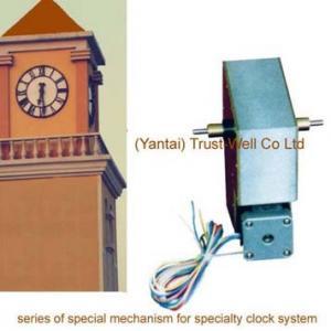 China double side street clocks movement motor mechanism double faces city street clocks , -Good Clock (Yantai)Trust-Well Co on sale