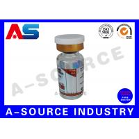 China PP Steroid Bottle Labels Pre Printed Labels Hologram Printing on sale