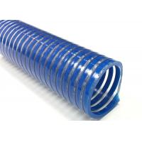 Best Spiral Reinforced PVC Suction Hose / Water Pump Pool Discharge Hose For Industry wholesale