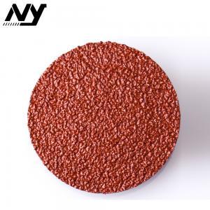 Best Mini Type R Abrasive Sanding Discs For Grinder Fiberglass  Ferrous Surface Conditioning wholesale