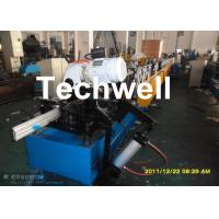 China 120mm Diameter Roller Shutter Forming Machine With Hydraulic Cutting TW-RSD85 on sale