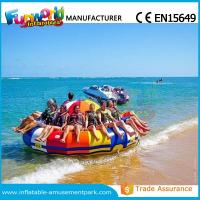 China 0.9mm PVC Inflatable Water Parks Inflatable Disco Boat Saturn 1 Years Warranty on sale