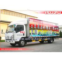 Best 14-CBM ISUZU NKR77 series refrigerated truck 4*2 wholesale