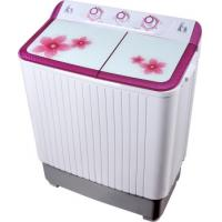 Best Colorful Twin Tub Semi Automatic Washing Machine 7kg  With Plastic Body Tempered Glass wholesale