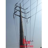 Best 132 KV DC Steel Tubular Poles wholesale