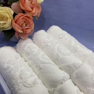 Best Hemmed 30x30cm Airline Jacquard Towel wholesale