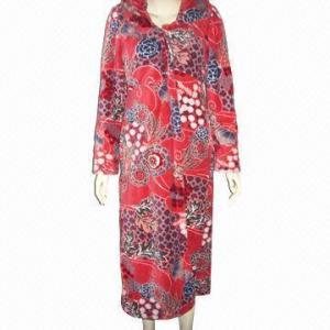 Best European ladies bathrobe, fashionable design wholesale
