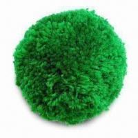 Best Pom-pom/Wool Ball, Available in 75 and 100mm Diameters, with 6 Bright Colors wholesale